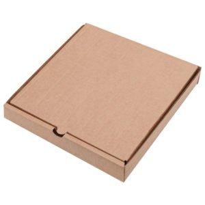 Коробка под пиццу крафт 330*330*45мм/50/
