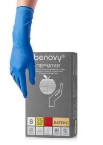 Перчатки неопуд пов. прочн. S Benovy(25пар) /250/