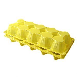 Контейнер для яиц желт..(РП-10/1)/270/
